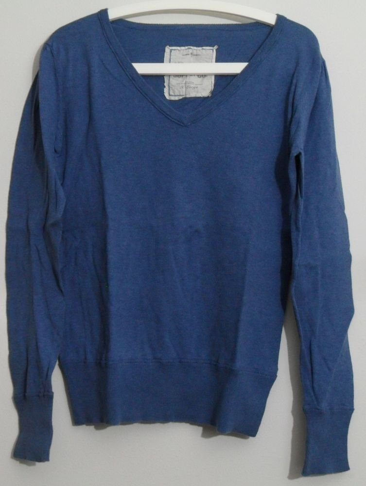 Mossimo Supply Co Blue Juniors XL Long Sleeve Pullover Knit Top