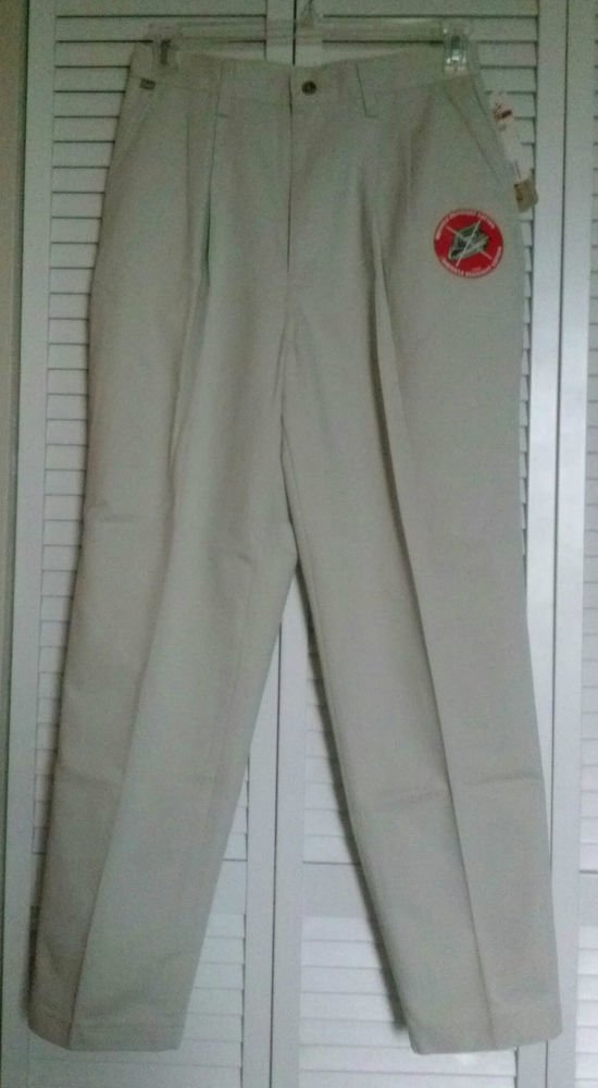 Chic Misses 12 Average Beige Wrinkle Resistant No Iron Casual Dress Pant