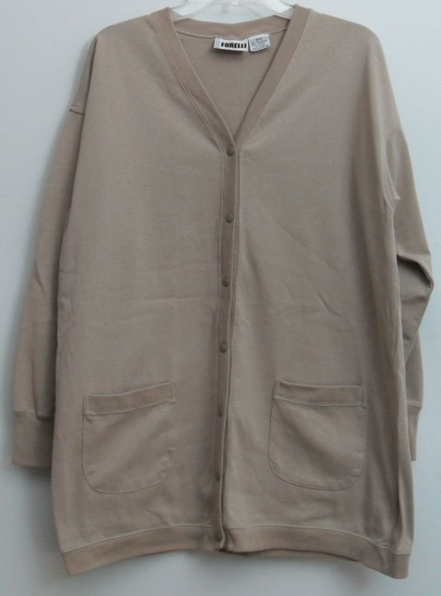 Forelli Internazionale 14/16 Button Down Long Sleeve 2 Front Pockets Cardigan