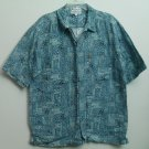 Columbia Sportswear Company Portland Oregon Button Down Casual Short Sleeve Top