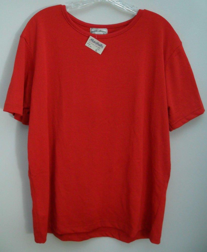 Marshalls Frazier Lawrence Orangish Red Honeycomb Weave Ultra Stretch Fabric