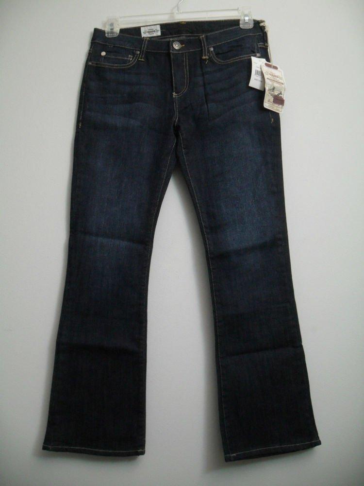 Dark Wash Indigo Rinsed Authentic Rugged Company 10 REG Dual Orange Stitching