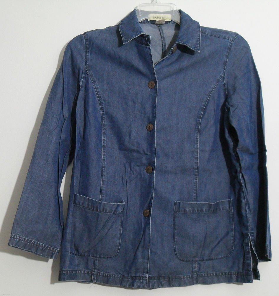 Linden Hill Long / Bracelet Length Sleeve Denim Blue 2 Patch Pocket Shirt Jacket