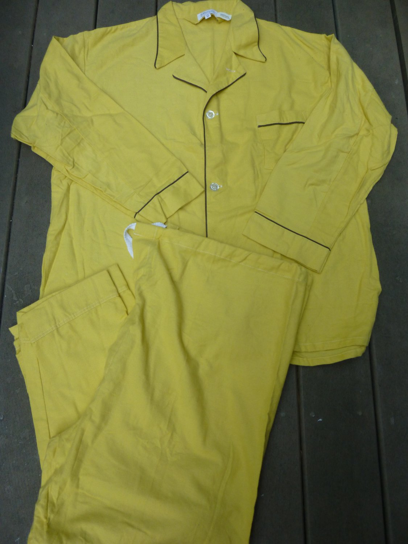 Vintage B. Altman Men's XXL Pajamas Unworn 100% Cotton SUPER SOFT & Warm Drawstring Bottom