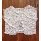 Mine Rayon Pink Floral Crop (S)