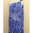 Jay Godfrey Blue One Shouldet Silk Blouse (4)