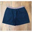 Dockers Navy Blue Shorts Pocketless Back Size 10 EUC Cotton