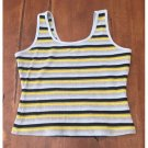 Nike Striped Athletic Tank (L)