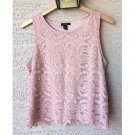 Forever 21  Mauve Lace Top (M)
