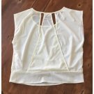 Poetry Ivory Open Back Blouse (S)