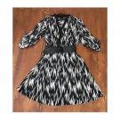 ABG B&W Abstract Print Dress (12)