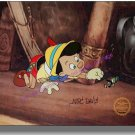 Sericel Cel MARC DAVIS Pinocchio Jiminy Cricket Hand Signed Walt Disney COA