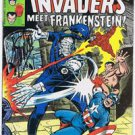 1978 Nazi Frankenstein fights Captain America Comic Book hand signed STAN LEE