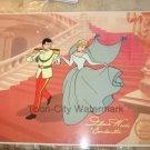 Disney Cinderella Sericel cel Hand Signed Original Voice Ilene Woods 1950