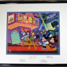 Mickey's Film Festival DELUXED hand Signed FOUR Voice Allwine Mint Condition