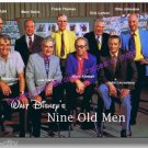 Walt Disney Nine Old Men 8x10 1960's NEW historic image Reitherman Kahl Lounsber