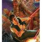 ALEX ROSS Star Wars Celebration 2015 Signed Han Solo WANTED print.
