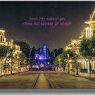 12 x 8 Disneyland Main Street time-lapse original photo NEW