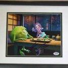 Jennifer Tilly Monsters INC Disney PIXAR Signed Photograph 8x10  PSA DNA Framed