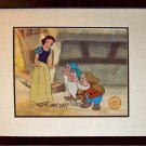 Snow White Seven Hand Signed Walt Disney Sericel Cel FREE background MARC DAVIS