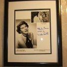 Cruella de Vil Hand Signed Betty Gerson Voice of Disney 101 Dalmatians New Frame