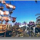 Vintage Fantasyland Pirate Ship Disneyland NEW print 8x10 Skull Rock