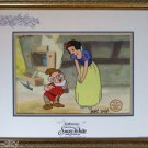 Snow White DOC Sericel cel Signed MARC DAVIS New Frame 50th Anniversary Dwarfs