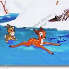 Original Walt Disney Autograph Bambi 1942 Voice Donnie Dunagan NEW 8x10 Signed