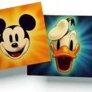 Donald Duck Mickey Mouse (2) 8 x 10 inches Disney NEW title cards 8x10