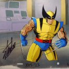 Wolverine original PRODUCTION cel hand signed STAN LEE COA MARVEL painted w3