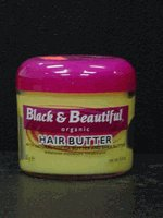 Black & Beautiful - Hair Butter 4.4oz.