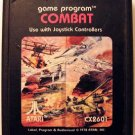 COMBAT (Atari 2600) Cartridge Only