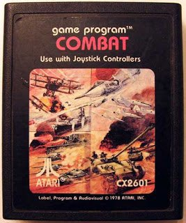 COMBAT (Atari 2600) Cartridge Only
