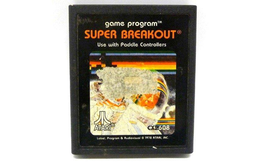 SUPER BREAKOUT (Atari 2600) Cartridge Only
