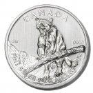 Canada Cougar Silver $5 Coin 2012   1oz .9999 fine UNC  Ltd Ed.