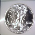 Silver American Eagle Bullion Coin 1991 NGC MS69 $1 One Full Ounce .999 fine