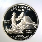 2005 S Silver Proof California State Quarter NGC PF70 Ultra Cameo Free US Ship