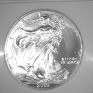 Silver American Eagle Bullion Coin 2003 NGC MS69 $1 One Full Ounce .999 fine