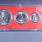 1971 US Coins Collector's Year Set 6 coins including Ike & Kennedy  Whitman