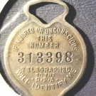 Ridgely Protective Association Insurance IdentityTag Worchester, MA  Numbered