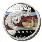 Goanna Silver Proof  $1 Coin  Discover Australia 2012 Perth Mint Limited Edition