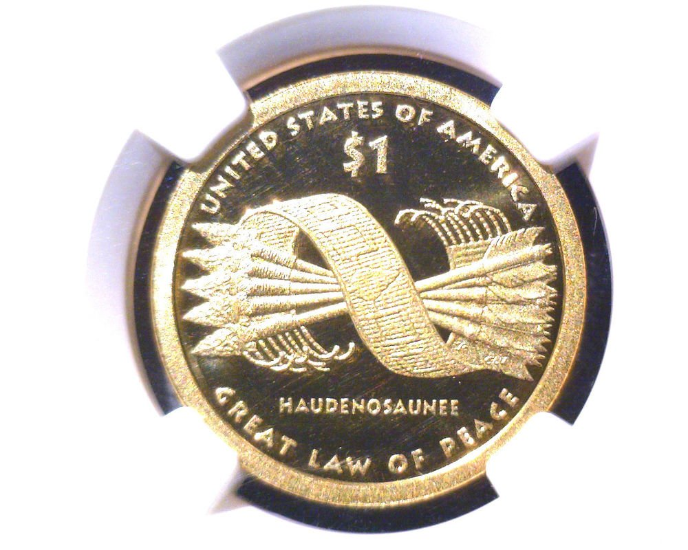 2010 S Sacagawea $1 Great Law of Peace NGC PF70UCAM Ultra Cameo Free US Shipping
