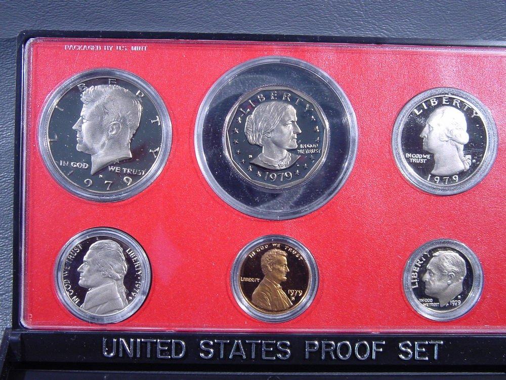 1979 US Mint Proof Set in Original Holder OGP no COA
