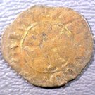 1368 Venetian Colonies 10 Resello Coin Italy