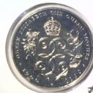 1990 Bermuda One Dollar Prooflike Coin  KM#67  Queen Mother's 90th Birthday