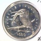 1994 Bosnia Herzegovina 500 Dinara Prooflike Coin KM#25  Kingfisher Bird & Fish