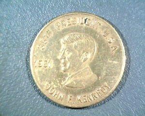 Kennedy Inaugural Medal * Bronze * 35th President * White House Jan. 20, 1961