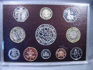 2003 United Kingdom Deluxe Proof Set in Original Packaging with COA  KM#PS136