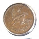 1932 Ireland Farthing Coin KM#1 UNCIRCULATED            Irish Harp and Bird