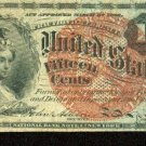 US Fractional Currency 15 cents FR-1271   4th Issue  1863 Liberty with eagle hat